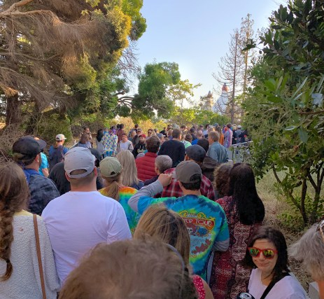 Waiting In Line at Shoreline Amphitheater