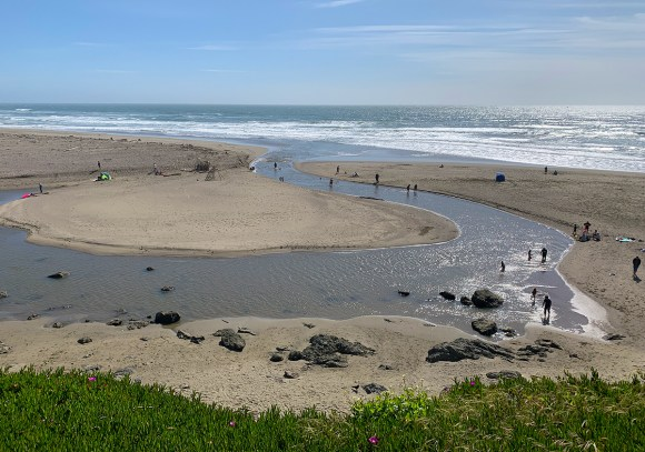 View of North Salmon Creek Beach From The Bluffs