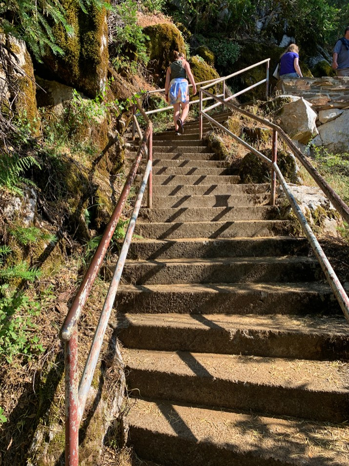 Crystal Cave Trail Stairs