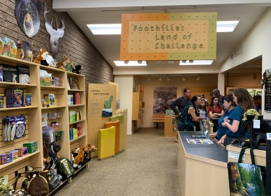 Foothills Visitor Center Store