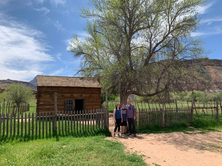 Natalie and Carter Bourn Exploring the Grafton Ghost Town
