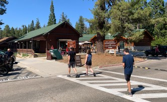 Kings Canyon Visitor Center Village
