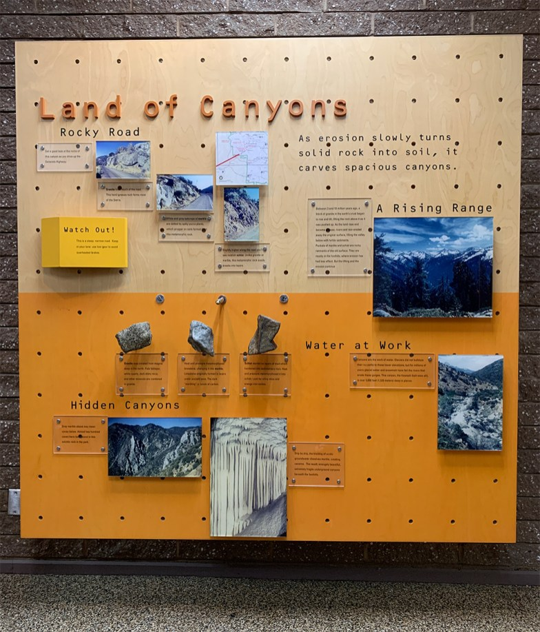 Land Of Canyons Exhibit
