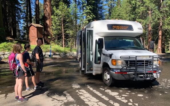 Sequoia National Park Shuttle