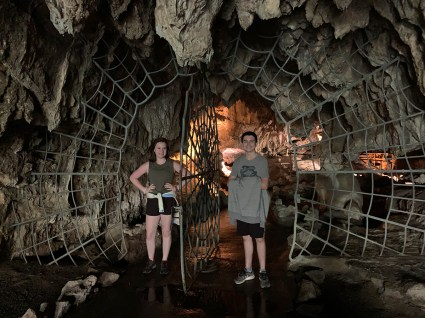 Spider Web Entrance at Crystal Cave