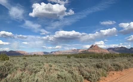 Plateau Near Zion National Park