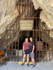 Boyden Cavern Entrance Gate