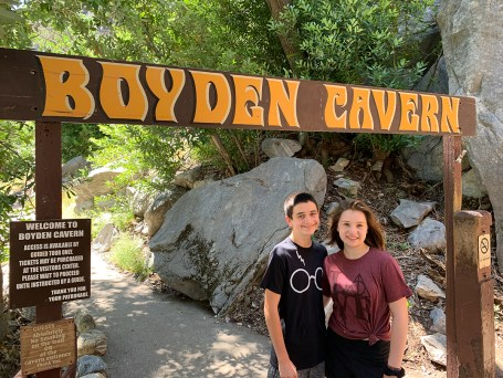 Boyden Cavern Sign