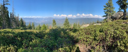 Kings Canyon National Park Panoramic Point Overlook