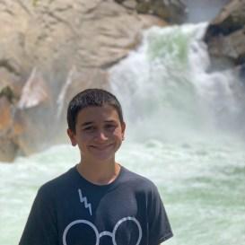 Carter Bourn at Roaring River Falls