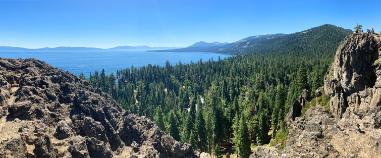View of Tahoe from Eagle Rock