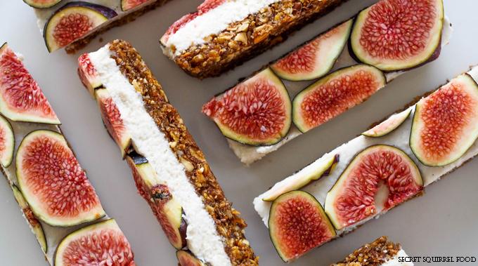 Healthy Dessert Raw-Vanilla-Coconut-Fig-Slices-Secret-Squirrel