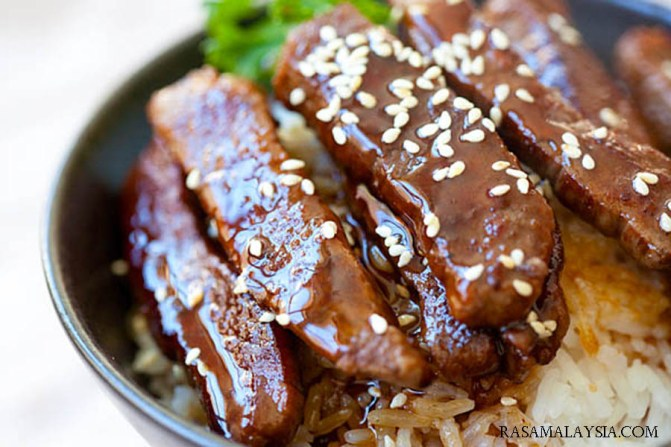 Beef Teriyaki Recipe Food Japanese Dinner Lunch Cuisine