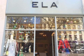 ELA London Knightsbridge Front Shop Fashion Store Opening