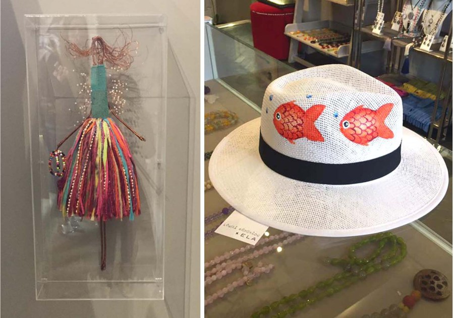 ELA London Knightsbridge Panama Hat Louisa Orphanou Fashion Store Opening