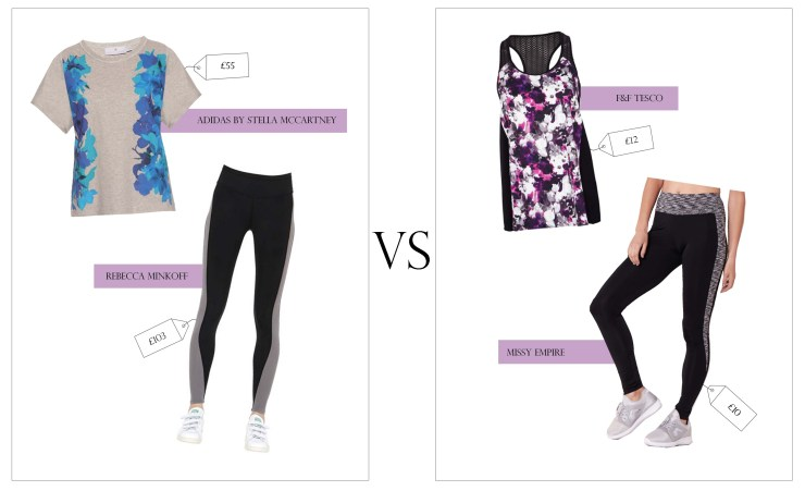 Health Fitness Gym Gear Stella McCartney Adidas Minkoff F&F Missy Empire