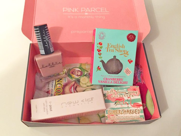 Bloggers Hangout Pink Parcel Nail Varnish Face Mask Lipstick beauty Blog Lifestyle Health Wellness Fitness