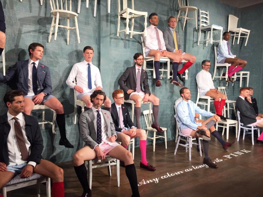 Thomas Pink ss17 Menswear LCM