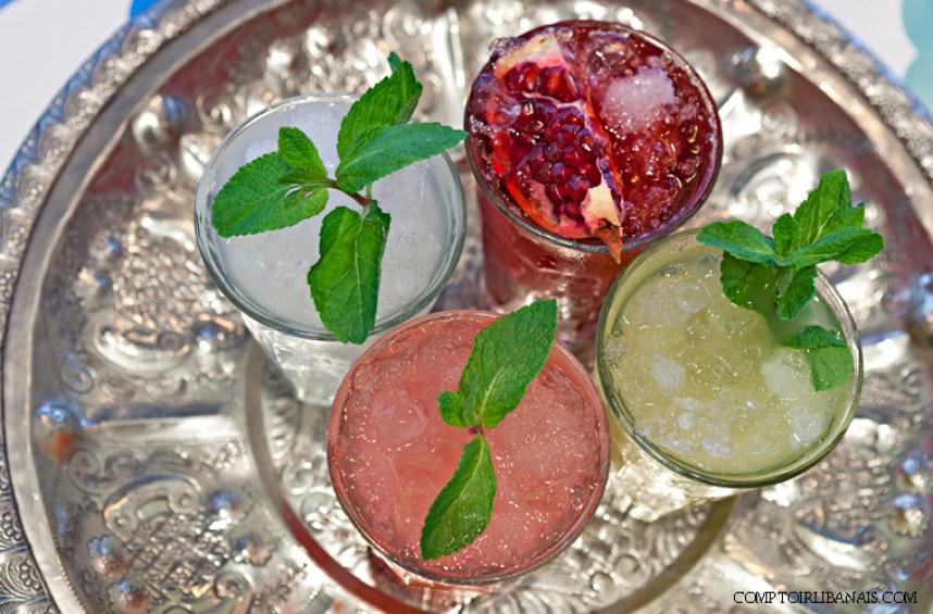 comptoir-libanais healthy cocktails bar london