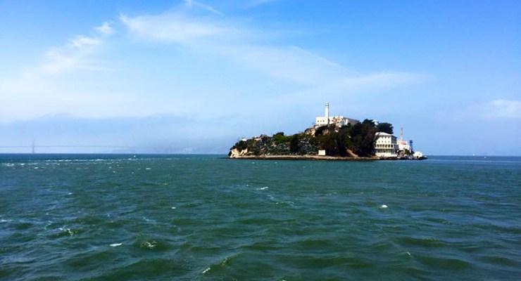 Alcatraz Prison Island San Francisco California Ocean, Road Trip USA America Travel