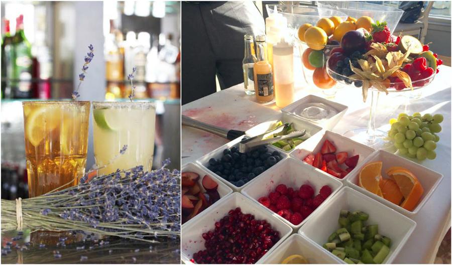 Aubaine Fruit Lavender Cocktail French Food Summer En Provence Restaurant Marylebone