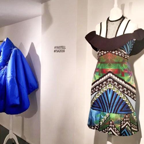 Fashion Salutes Art MadebyZA DressExhibition Dress Design Jacket