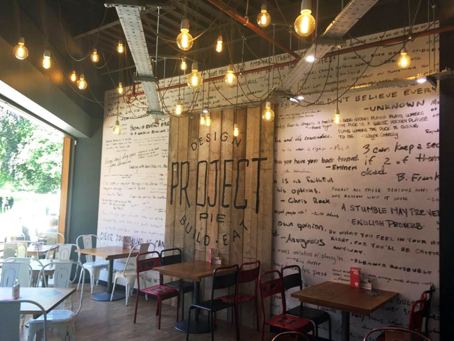 Project Pie Bromley Artisan Bespoke Pizza Launch Interior