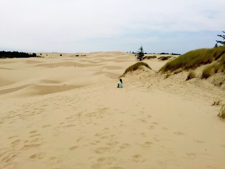 West Coast American Roadtrip Oregon Sand Dunes USA Travel Beach View 2
