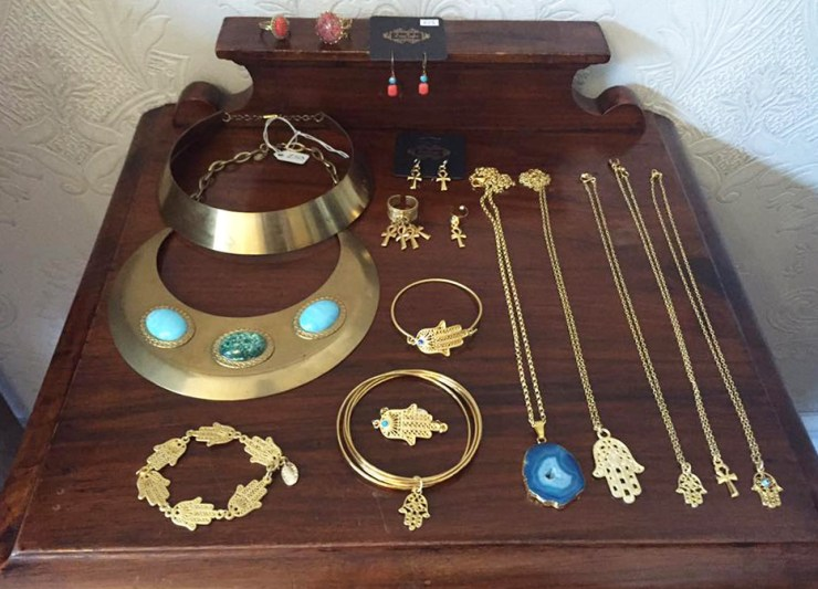 Zara Taylor Jewellery Vintage Gold Handmade Necklaces