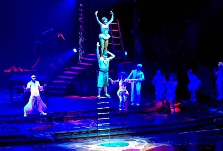 Las Vegas Cirque De Soleil Aria Travel America City Guide