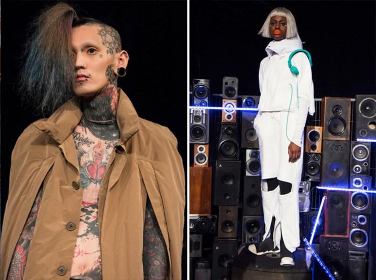 London Fashion Week Men's Michiko Koshino AW17