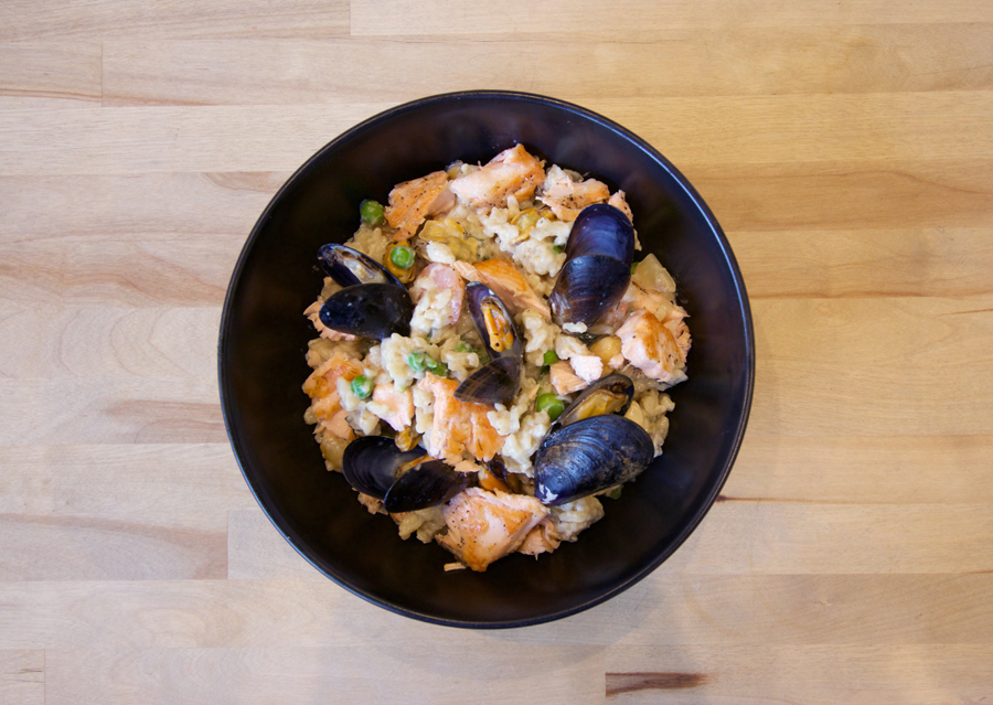 8. Italian Recipe Seafood Risotto Mussels Bowl Food Prawns Cooking Chef Kitchen.jpg