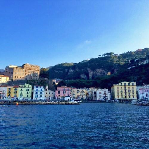 Italy Sorrento Amalfi Positano Coast Mediterranean Sea Ocean Coastline Holiday Travel