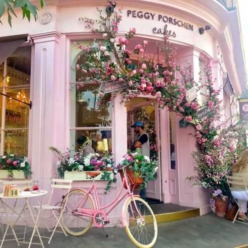 Peggy Porschen Cafe Belgravia Floral Flowers Cake Pink