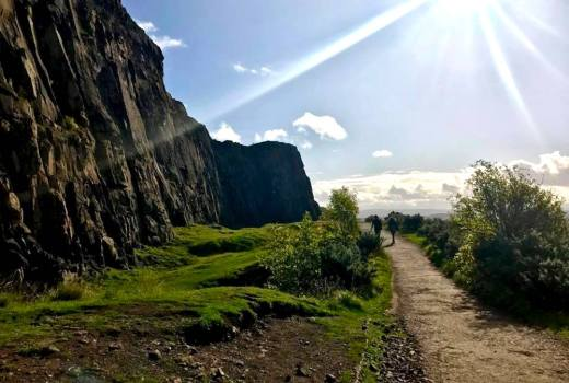 4 Days Edinburgh Arthur's Seat Itinerary Scotland Travel Guide Hike