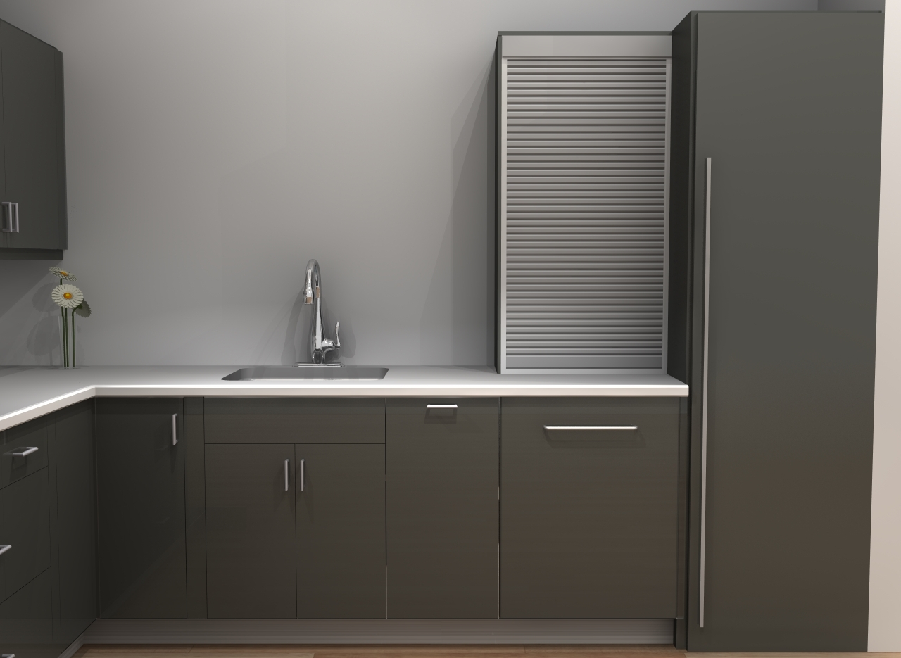 Davids New Modern European IKEA Kitchen