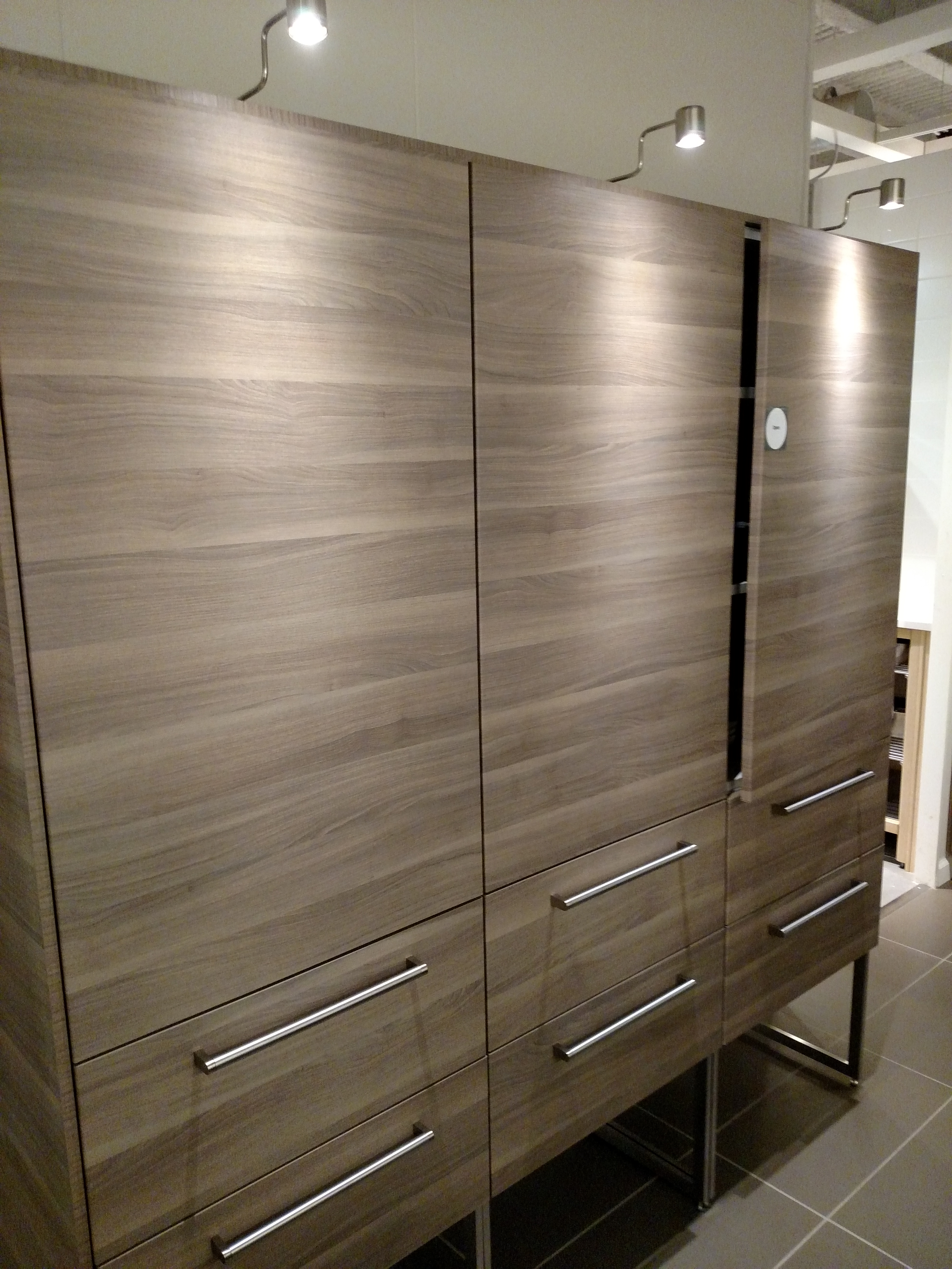 A Look At SEKTION In The IKEA Kitchen Showroom