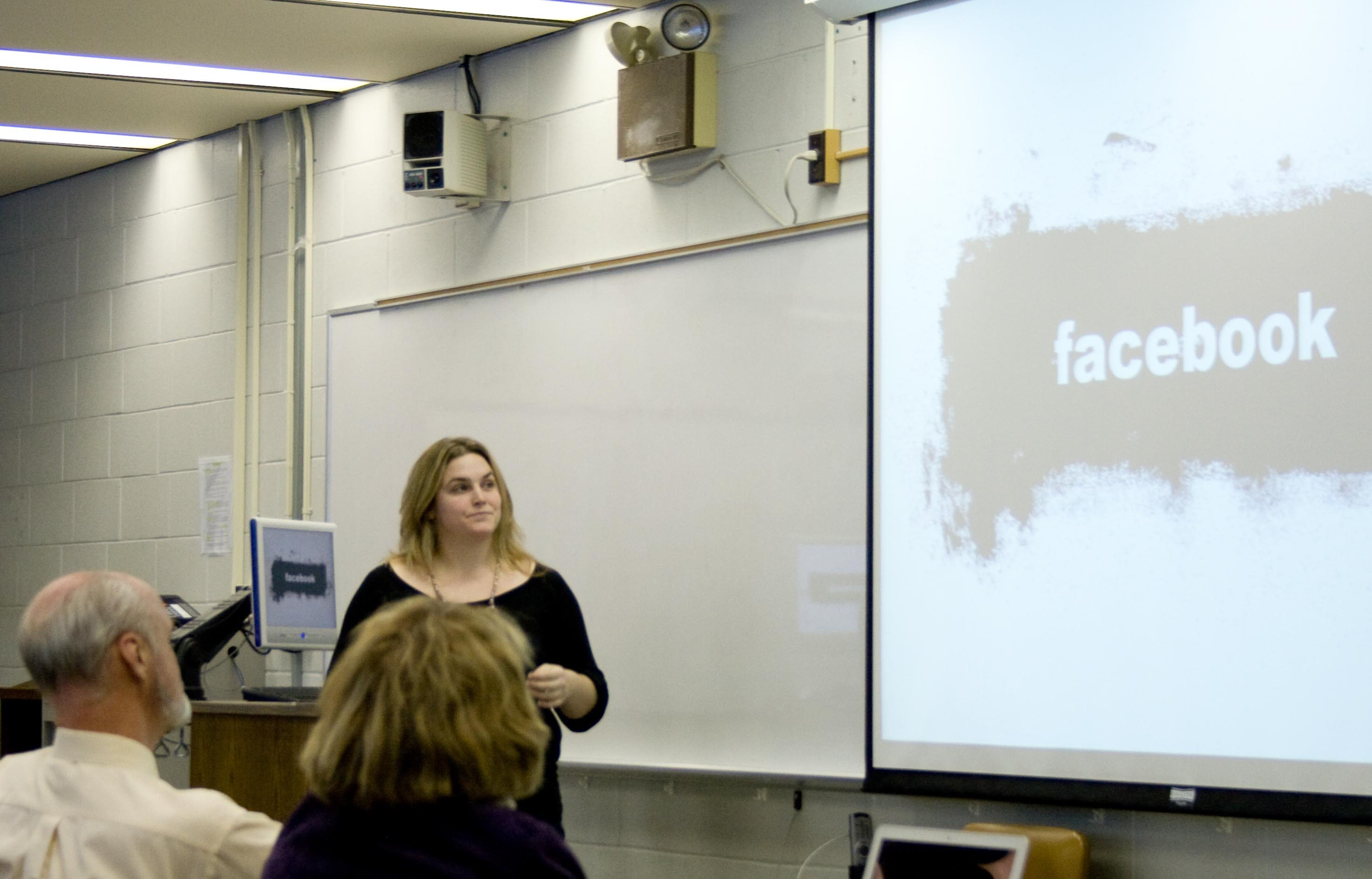 Amy presents at Web 2.You 2009