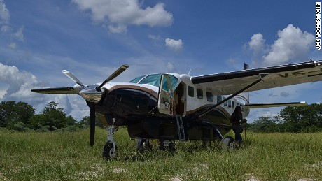 Flying is the quickest and most scenic way to Caprivi.