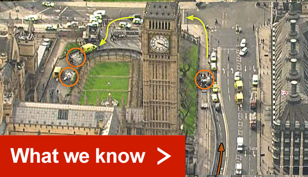 Read what we know about the Westminster attack