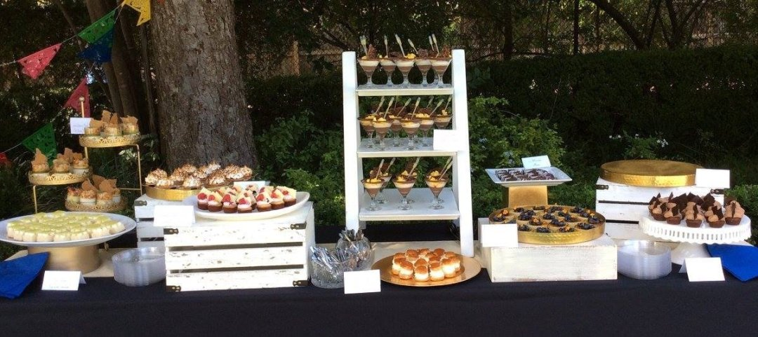 Dessert Buffet for Bill Clinton Fundraiser