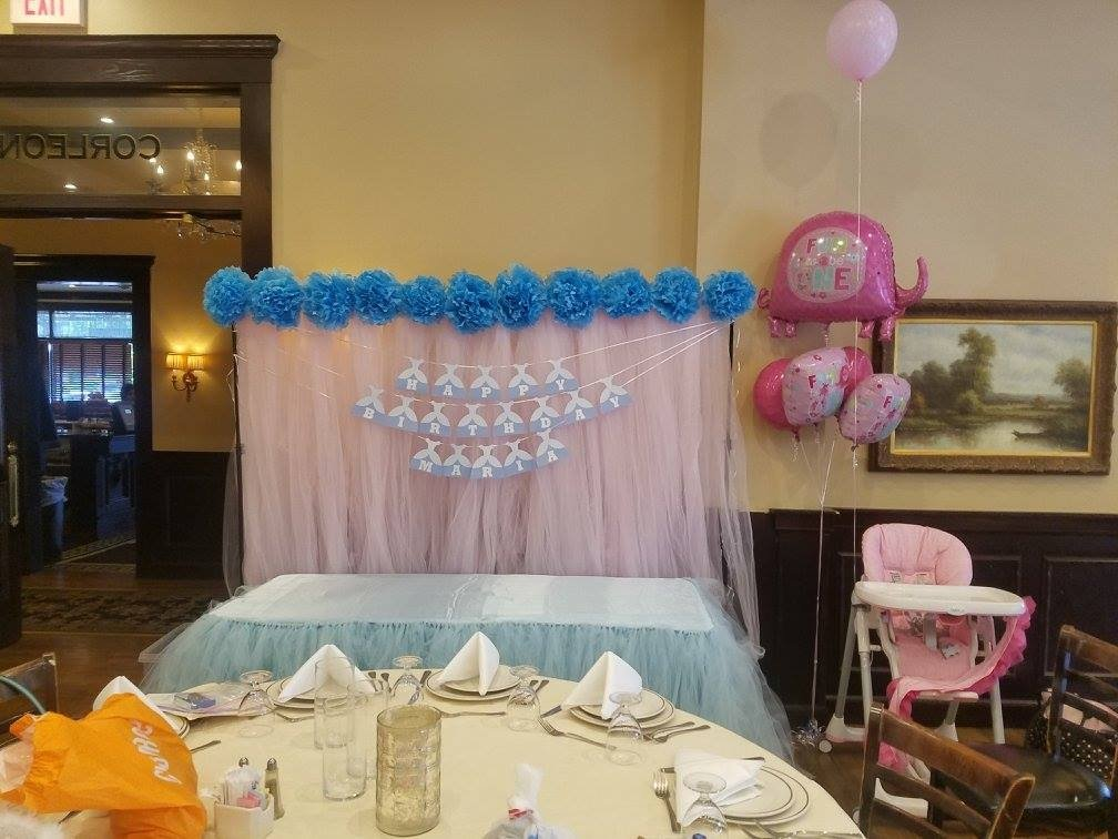 Blue and Pink Princess Party