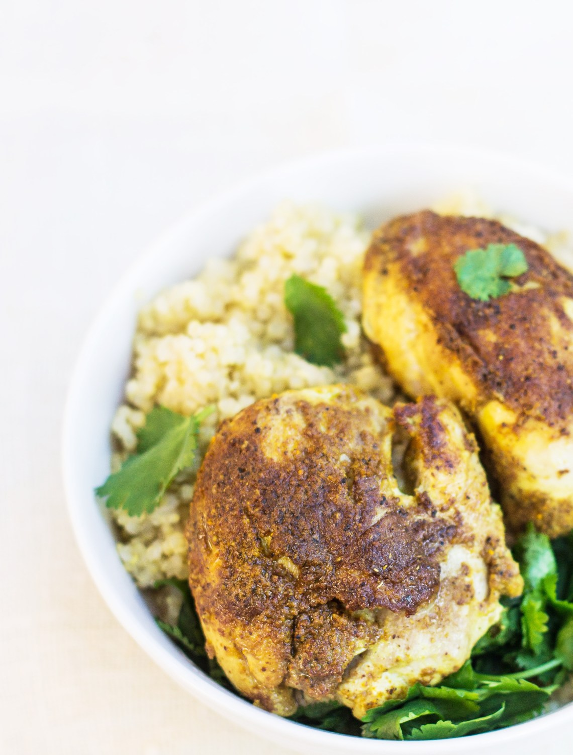Easy Recipe: Indian-Spiced Chicken - Inspired RD