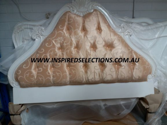 Upholstered Bed Head Queen Size