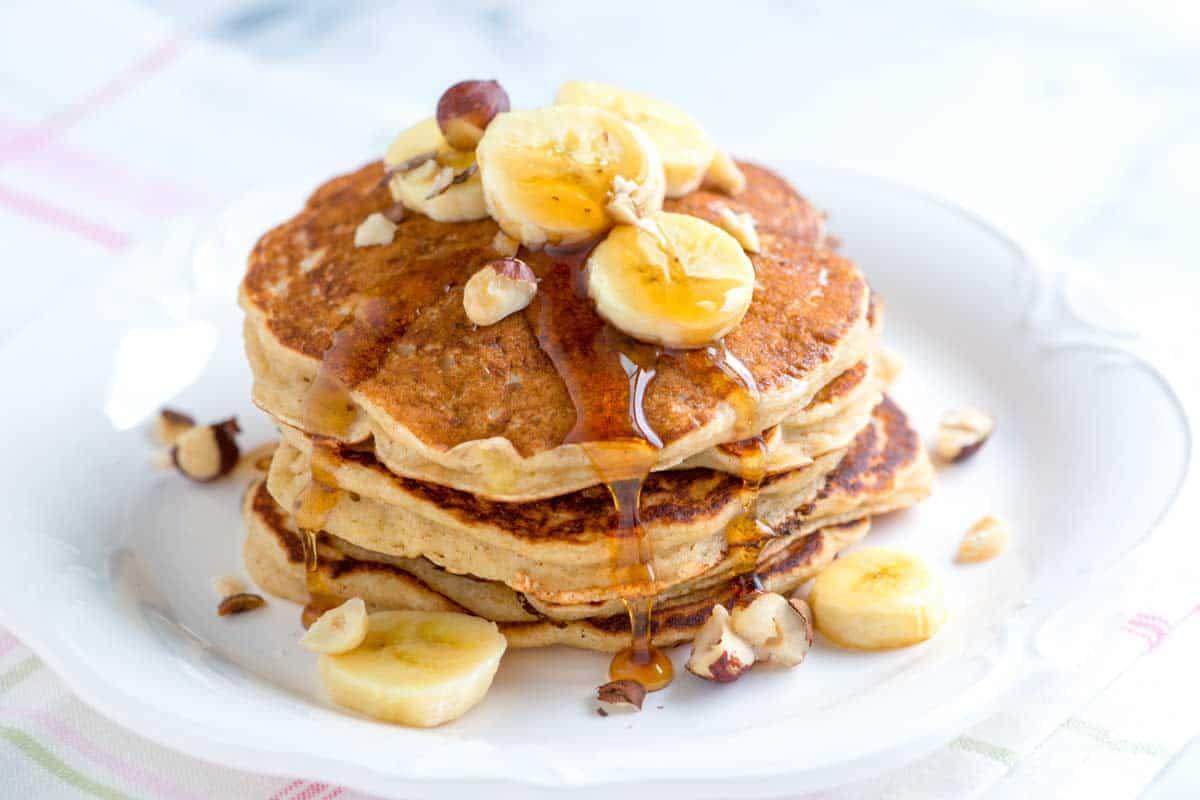 Perfect Banana Pancakes Recipe
