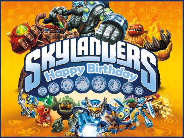 Skylanders Party Theme Inspired Themes 4u