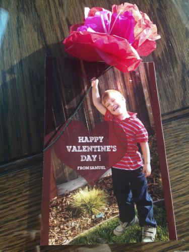 Valentine's Photo Card