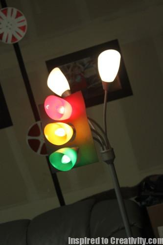 Stoplights for Birthday Party