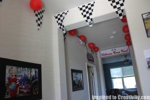 Race Car Birthday Party Decorations
