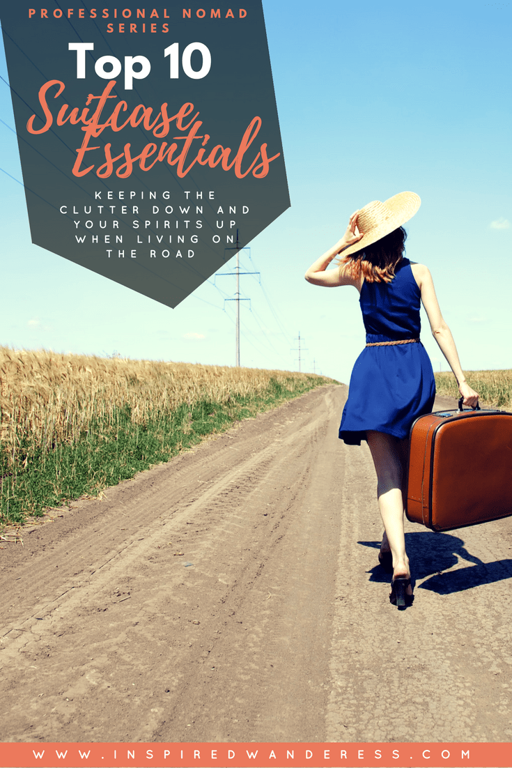 professional nomad series top 10 suitcase essentials